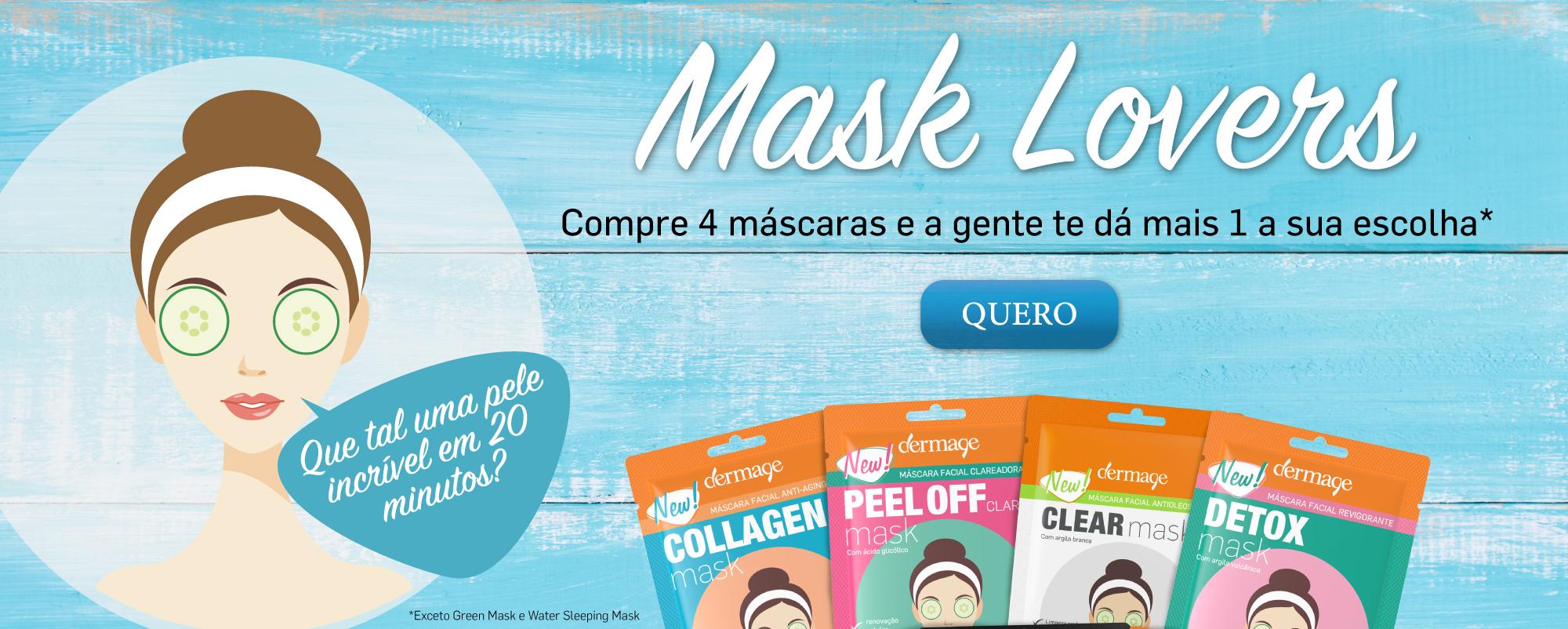 Promoção Máscara