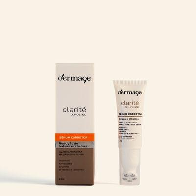 Serum-clareador-de-olheiras-e-bolsas-Clarite-Olhos-CC-Dermage-embalagem